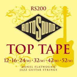 Rotosound Top Tape RS200 Jazz Guitar strings available at Penarth Music Centre