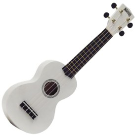 Mahalo Soprano Ukulele White available at Penarth Music Centre