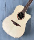 LAG Dreadnought Electro Acoustic guitar available at Penarth Music Centre