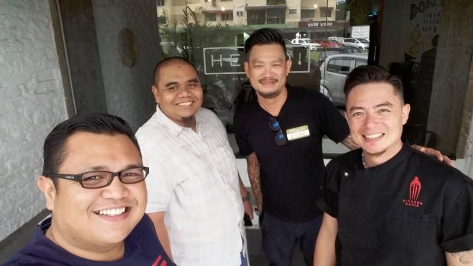 Pencari Makan, Raja Makan with Chef Sherson Lian dan Chef Johnny Fua di Hello by Kitchen Mafia