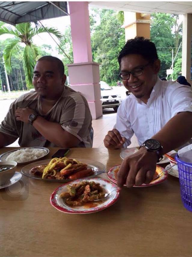 Dr Azizul tak sabar dah nak makan udang galah rompin