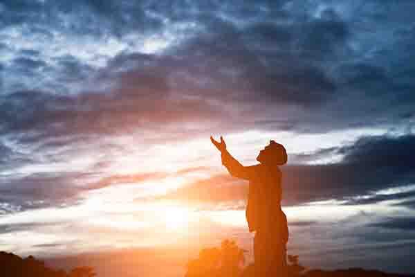 Berdoa harus kenceng