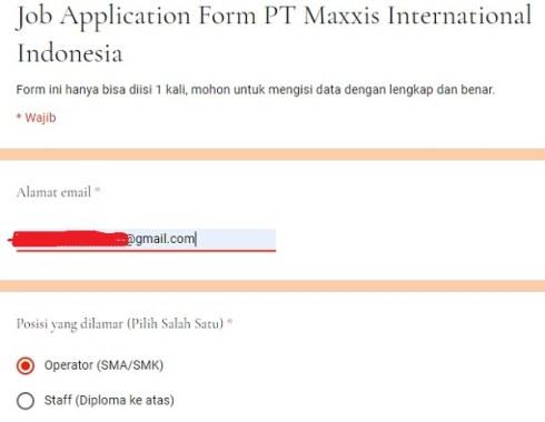 Maxxis Career