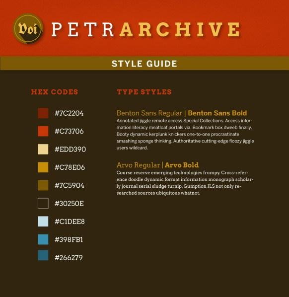 petrarchive-styleguide