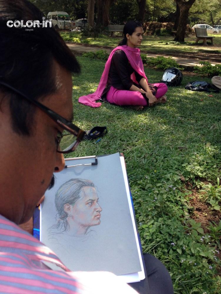 #pencilandchai portrait Study studysession 32 32 A portrait week again with a guest !  - pencilandchai portrait Study studysession 32 32 - A portrait week again with a guest !
