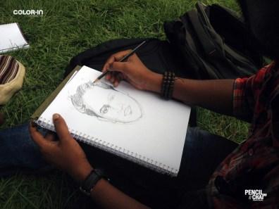 Face Element Study #PencilAndChai