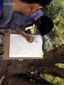 Line drawing fundamentals #PencilAndChai #ColorIn7