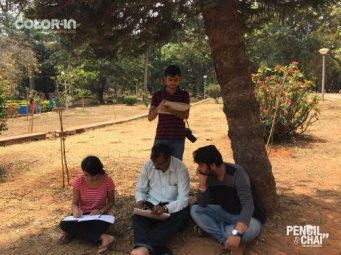 Outdoor Realistic Painting Classes in Bangalore_Pencil And Chai outdoor realistic painting classes - Outdoor Realistic Painting Classes in Bangalore Pencil And Chai2604 - Outdoor Realistic Painting Classes
