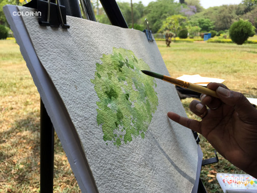 Learn Watercolor in Bangalore With Pencil And Chai! learning watercolor? these 7 techniques that helps artists! - PAC 92 WatercolourArt   Sketching Classes in Bangalore 10 - Learning Watercolor? These 7 Techniques that Helps Artists!