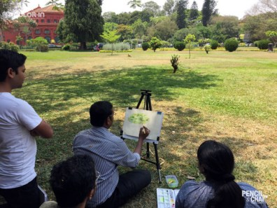 Weekend art classes in Bangalore learning watercolor? these 7 techniques that helps artists! - PAC 92 WatercolourArt   Sketching Classes in Bangalore 13 - Learning Watercolor? These 7 Techniques that Helps Artists!