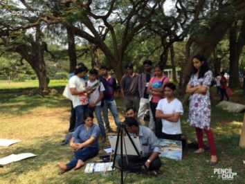 Pencil And Chai Art Classes in Bangalore learning watercolor? these 7 techniques that helps artists! - PAC 92 WatercolourArt   Sketching Classes in Bangalore 15 - Learning Watercolor? These 7 Techniques that Helps Artists!