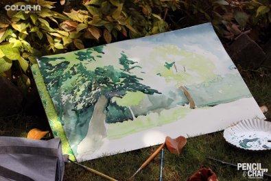 Hues of Watercolor_Watercolor workshops in Bangalore_Coloring India0051