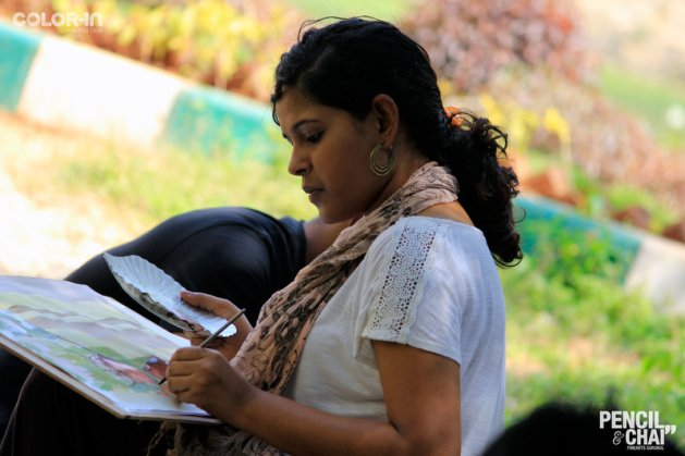 Hues of Watercolor_Watercolor workshops in Bangalore_Coloring IndiaMG_0093