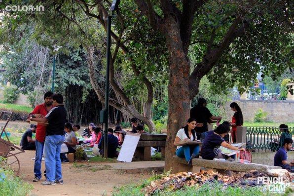 Hues of Watercolor_Watercolor workshops in Bangalore_Coloring IndiaMG_0120