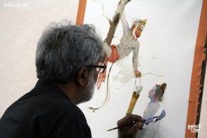 IMG_3002 painting workshop - IMG 3002 - Hues of Watercolor 6 Painting Workshop in bangalore-Vasudeo Kamath