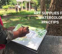 Art supplies for watercolor painting and tips for beginners : weekend art classes - Art Supples for Watercolor painting tips for watercolor painting pencilandchai 220x192 - Weekend Art Classes in Bangalore : Pencil & Chai Fine Arts Gurukul