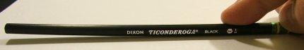 A warped Dixon Triconderoga #2HB
