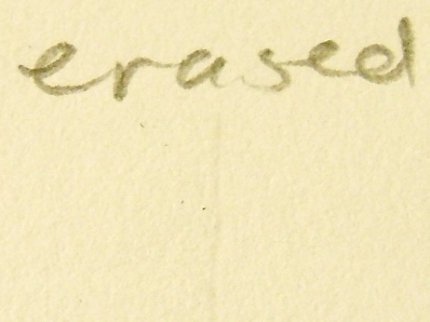 The latex free eraser works nicely.