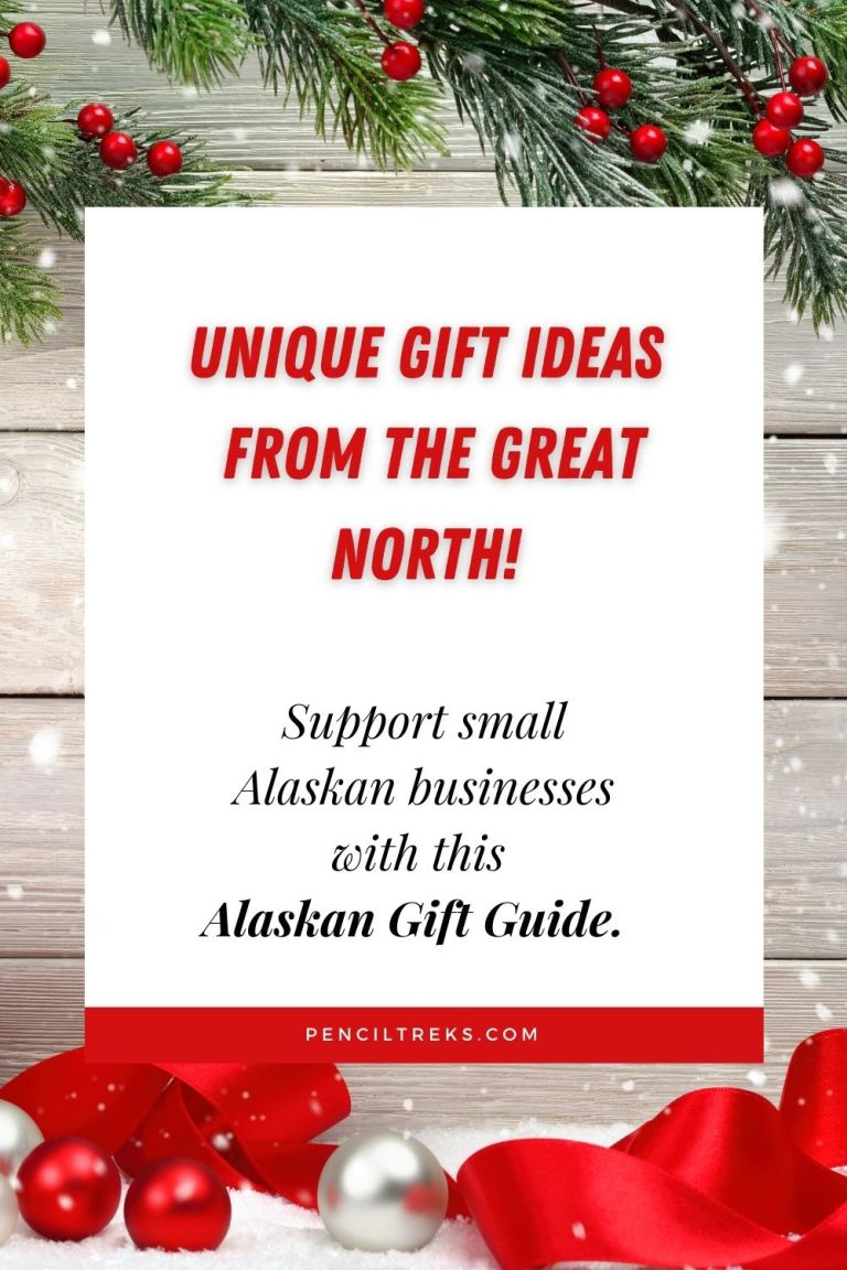 Would you like to give something unique and special all while supporting small businesses? This Alaskan Gift Giving Guide is filled with one of a kind ideas for everyone on your list. Give something from the Great North this holiday season and support small Alaskan businesses