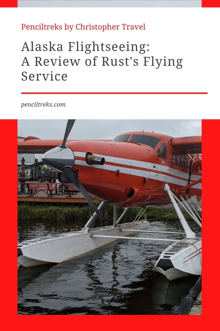Flightseeing is a great way to see Alaska. This review of Rust's Flying Service will tell you all you need to know about seeing Alaska by air!