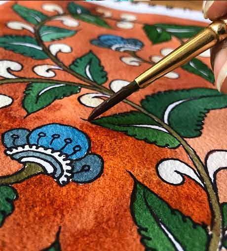 Learn-Kalamkari-Painting-online-with-indias-best-artists-Pencil-Tuts-by-Pencil-Tuts