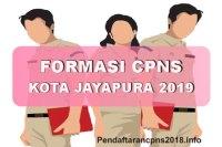 Formasi CPNS Kota Jayapura Tahun 2019