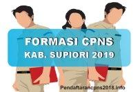 Hasil Seleksi Administrasi CPNS Kabupaten Supiori 2019