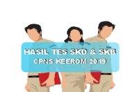 Hasil Tes SKD dan SKB CPNS Kabupaten Keerom 2019