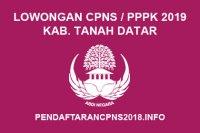 Lowongan ASN CPNS / PPPK / P3K Kabupaten Tanah Datar Tahun 2019