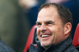 frank de boer 3 - PSV Eindhoven v Ajax Amsterdam - Eredivisie