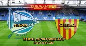 Prediksi Bola Alaves vs Valencia 28 Oktober 2017