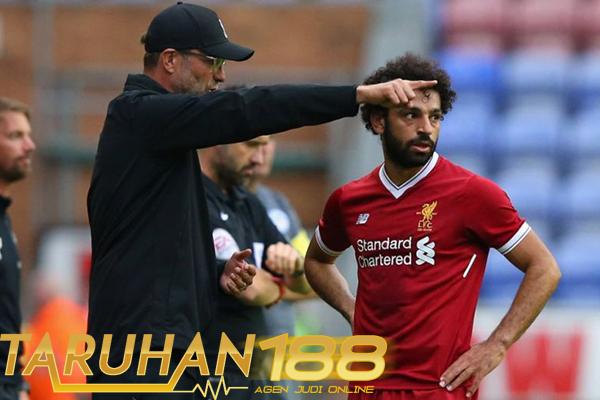 Klopp Berterima Kasih Pada Salah yang Cetak Dua Gol Liverpool