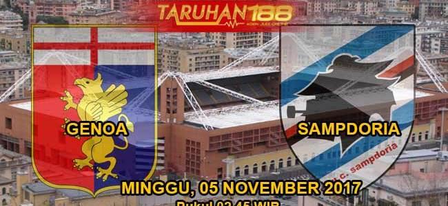 Prediksi Bola Genoa vs Sampdoria 04 November 2017