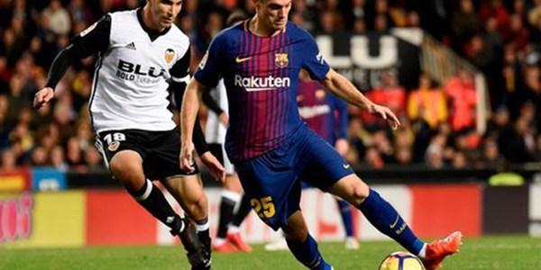 Vermaelen Kembali Masuk ke Starting XI Barcelona Kontra Valencia