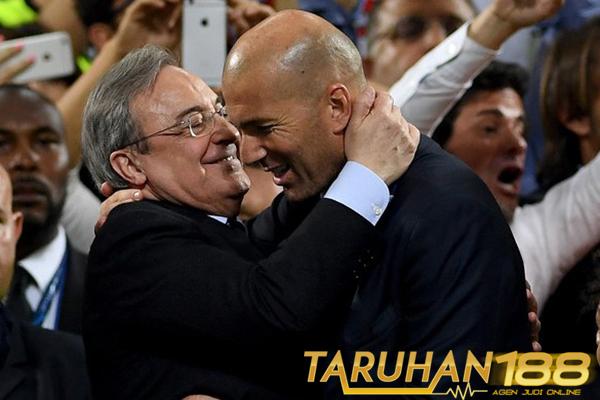 Zidane dan Perez Beda Pendapat Soal Pemain Incaran Real Madrid