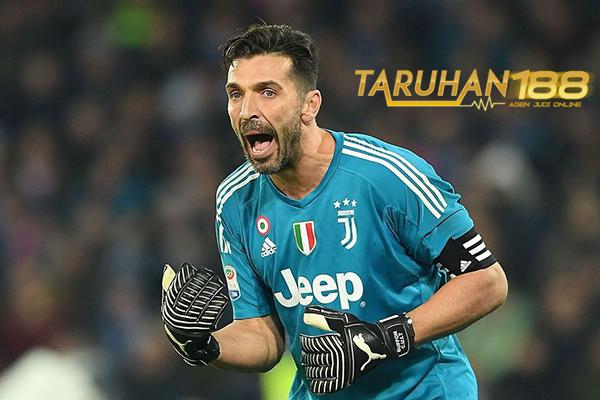 Juventus Konfirmasikan Buffon Absen Saat Hadapi Inter Milan
