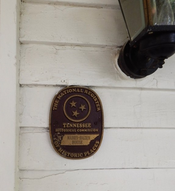 Mabry-Hazen-House-Plaque