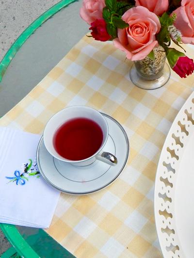 The Art of Paying a Call - serving tea- penderandpeony.com