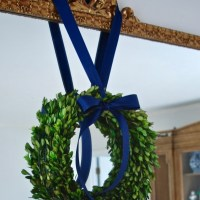 Preserved Boxwood Wreath Tutorial