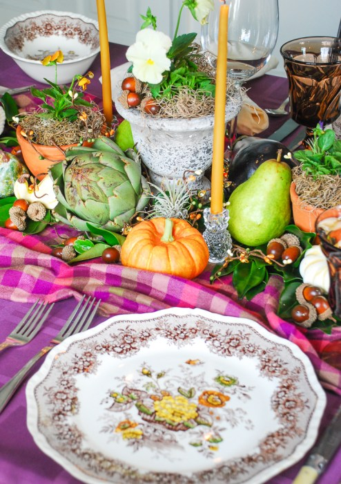 Gather friends and family round this autumn harvest table to celebrate the bounty of the season!