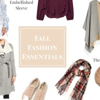 Fall Fashion Essentials