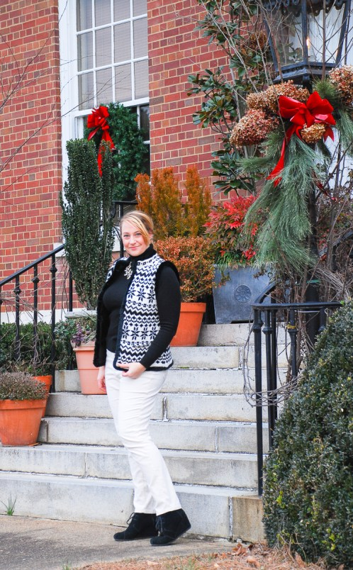 Fair Isle Sweater Vest on Repeat - Pender & Peony - A Southern ...