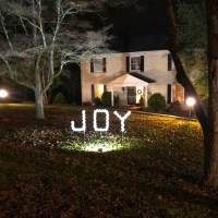 DIY Outdoor Christmas Decoration: Joy PVC Sign