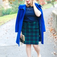 Checking It Twice - Black Watch Skirt Two Ways