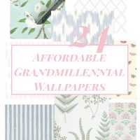 Affordable Grandmillennial Wallpapers