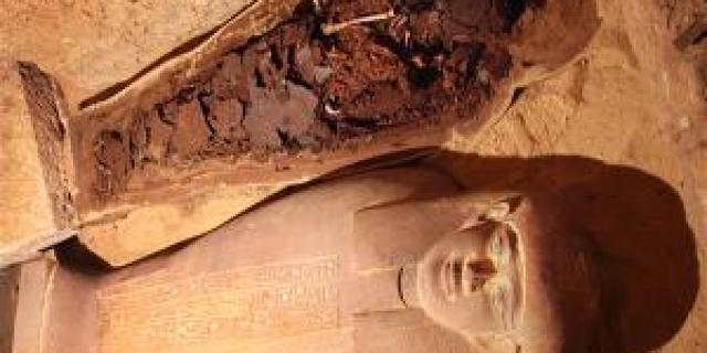 57 The discovery of the Tomb of Ancient Egypt