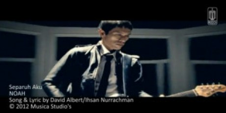 Lirik Lagu dan Official Video 'Separuh Aku' Noah Band