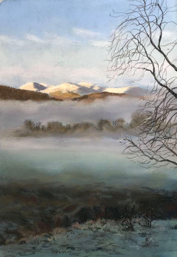 Early Morning Mist over Aberfeldy