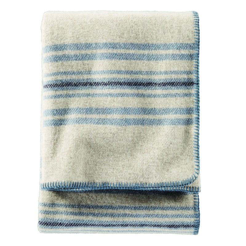 Pendleton Eco-Wise Washable Wool - Irving Stripe, Taupe