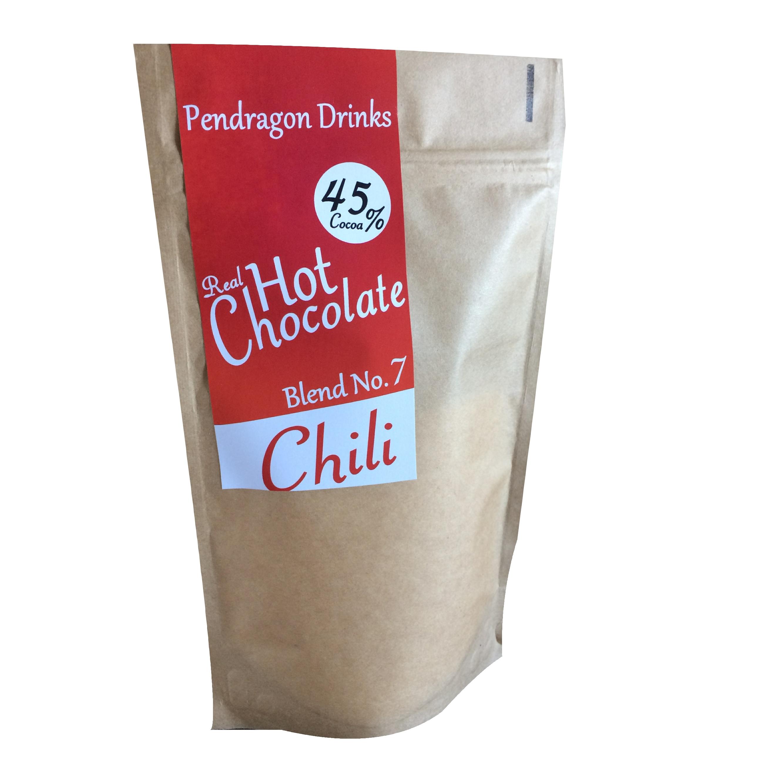 chili hot chocolate, luxury hot chocolate, premium hot chocolate, spiced hot chocolate